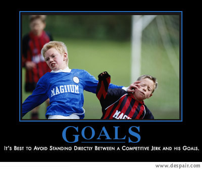 Just Say No to Goals